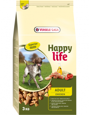 HAPPY LIFE ADULT CHICKEN ENERGY 15 KG